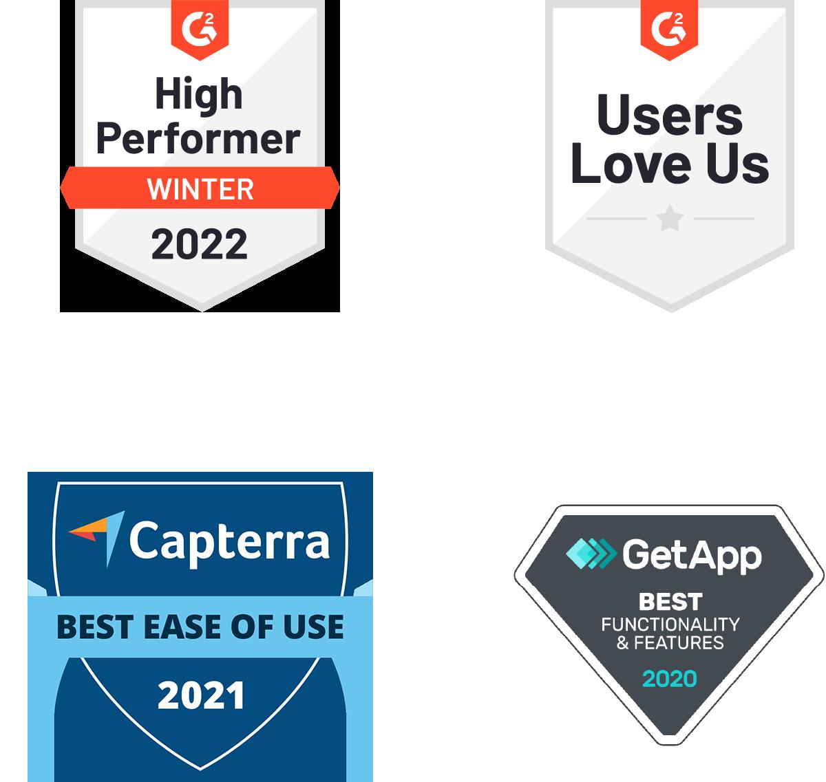references badges mobile