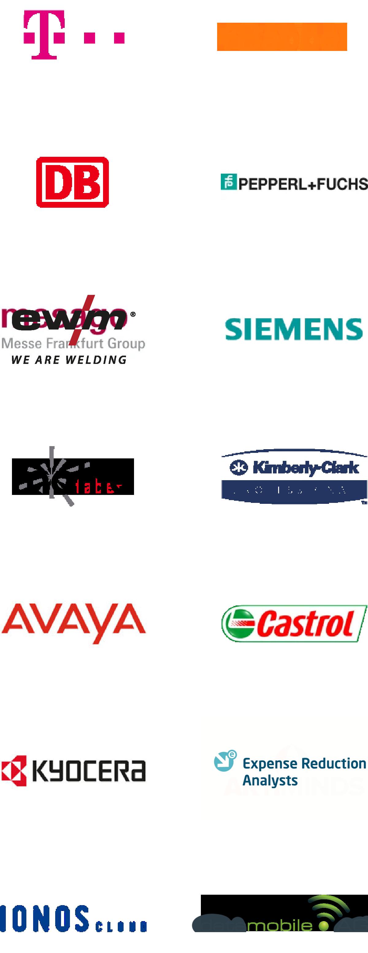 Customer Logos mobile
