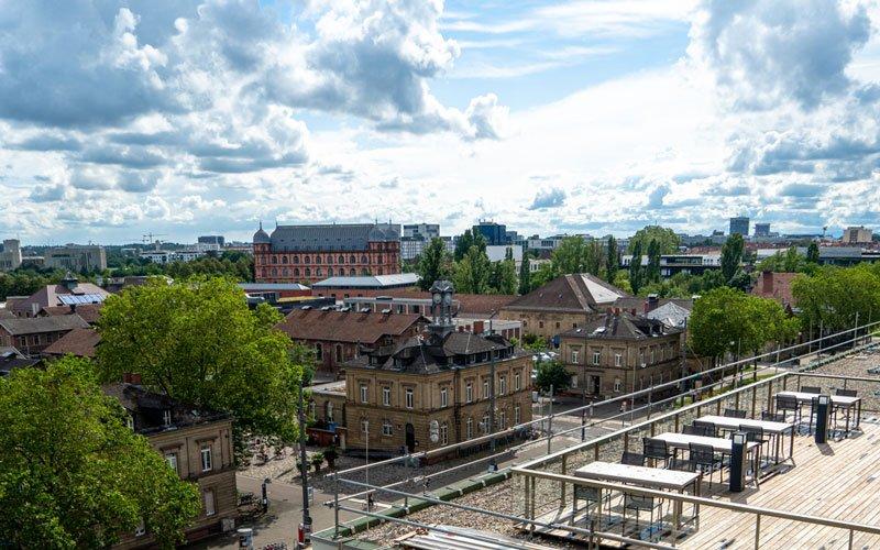 Coworking Space Karlsruhe - Aussicht
