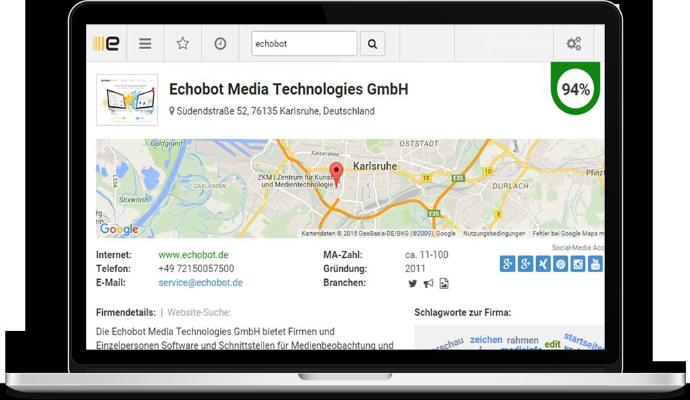 Integration Echobot CONNECT