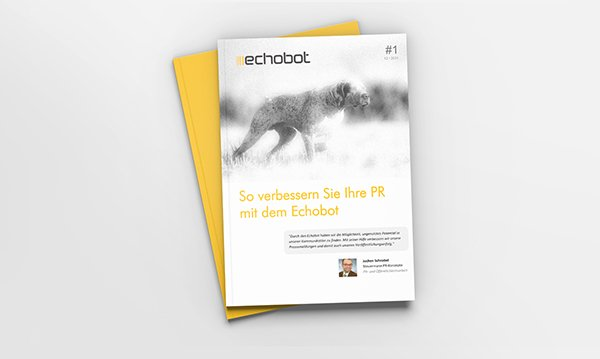 Whitepaper: Verbessern Sie Ihre Online-PR mit Echobot